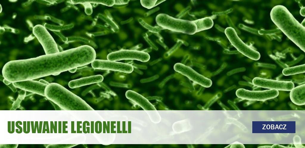Usuwanie Legionelli